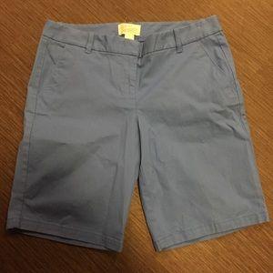J. Crew Bermuda Shorts Size 6 Blue